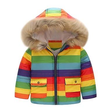 66acff4401e52 Sweat A Capuche Bebe Garcon Fille Hiver Chaud BéBé Imprime Hooded Hoodie  Manteau De Fourrure Enfant Chic Blouson Manteaux Veste Ski VêTement ÉPais  Naissance ...