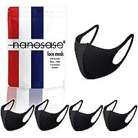 igozen 5 Pack Unisex Adult Face Masks Nanosase G Sports face Masks Antimicrobial Poly Spandex Face Mask Cover (Adult…