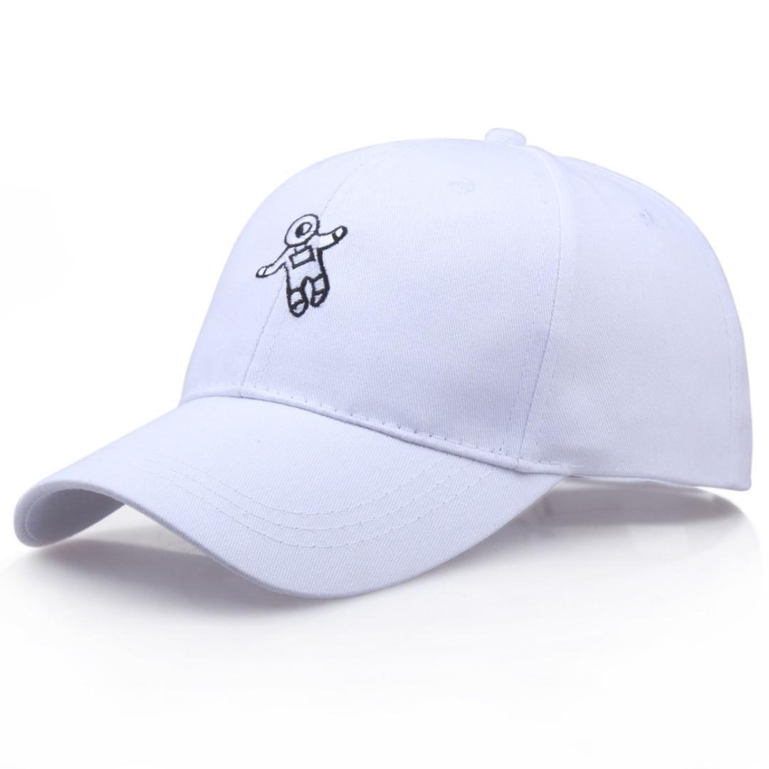 LMMVP Gorra de Béisbol para Hombres Mujer,Unisex Sombrero de Moda de Astronauta emberoidery Gorra de Béisbol Sombrero de Sol (D): Amazon.es: Deportes y aire ...