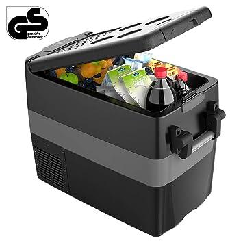 Amazon.es: ISSYZONE - Nevera eléctrica portátil de compresión, 42 ...