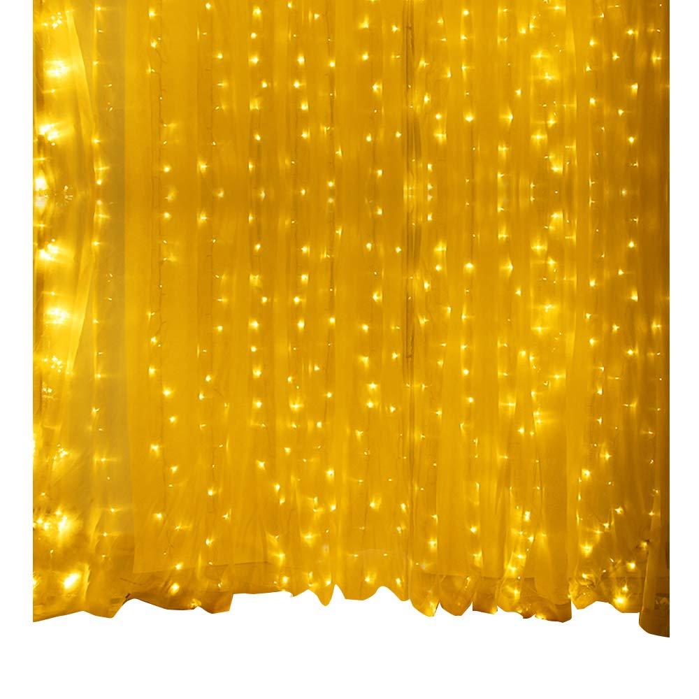Catena Luminosa Stringa Luci - Moobibear 30M 300 LED Fata lucida a fili di rame, Impermeabile IP65 per Casa, Festive, Natale ed Bar Decorazioni( Bianco caldo ) MB-SLDW0080