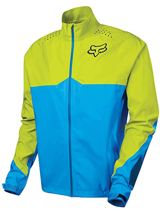 Chaqueta Btt Fox 2017 Downpour Light Azul-Amarillo (S , Azul ...