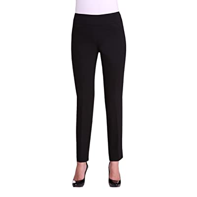 Alia Tall Inseam Pull-On Straight Leg Pant With Pockets