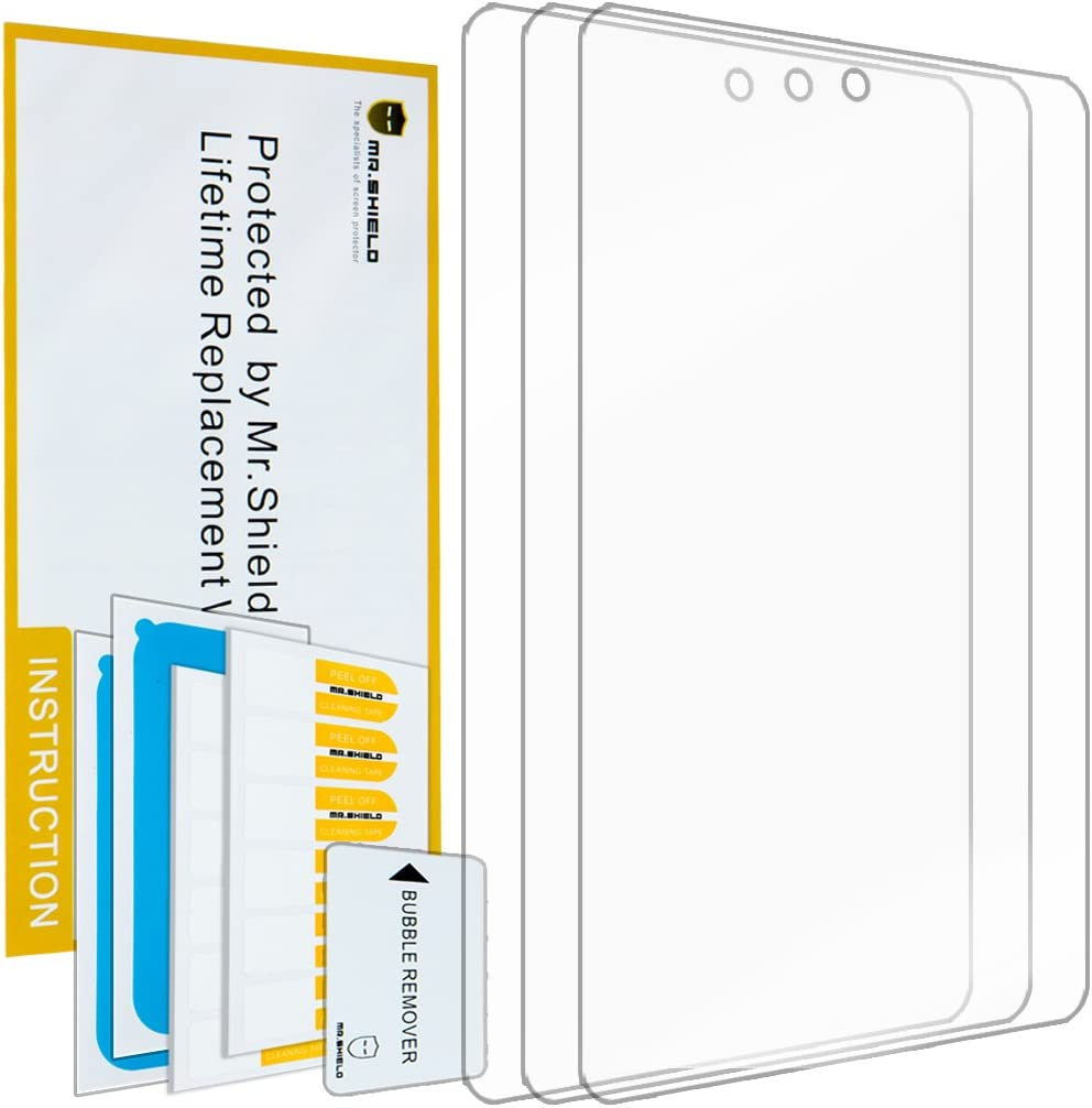 Mr.Shield for HP 10 Plus 10.1-Inch Premium Clear Screen Protector [3-Pack] with Lifetime Replacement