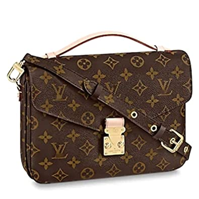 aeeebe6fd Amazon.com: Leather House Womens Handbags All-over Printed Purses Satchel  Shoulder Bag with Zipper Wallet Brown 25X19X9cm: Shoes