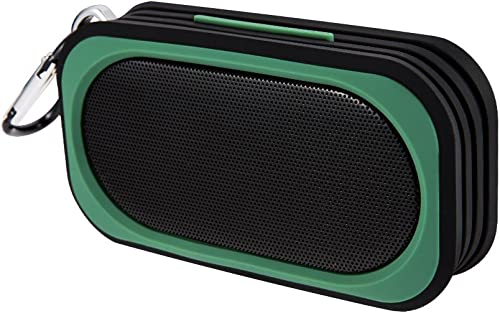 Proxelle Surge Mini Pocket Size Waterproof Bluetooth Speakers Portable Mp3 Player Wireless Speaker Systems Green