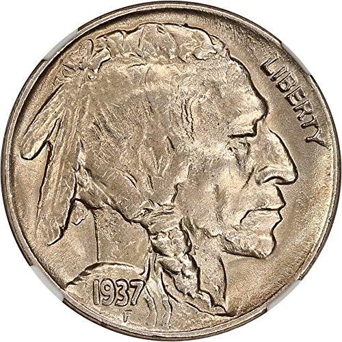 1937 D Buffalo Nickels 3 Legged Nickel MS61 NGC\CAC