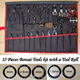 Brand New 35 Pieces Bonsai Tools Kit with a Tool Roll