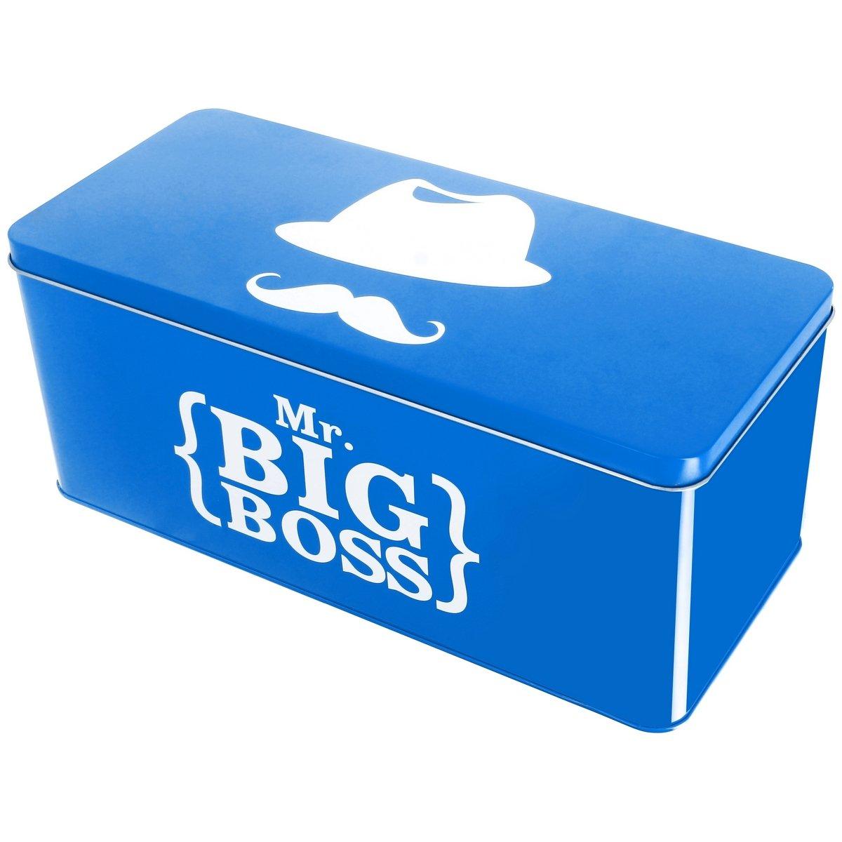 Promobo - recinto de almacenamiento (Metal, Monsieur Big Boss ideal farmacia documentos correo blanco: Amazon.es: Hogar