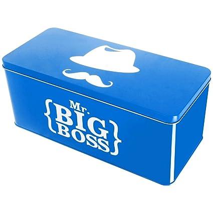 Promobo – recinto de almacenamiento (Metal, Monsieur Big Boss ideal farmacia documentos correo blanco