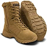 """Smith & Wesson Footwear Men's Breach 2.0 Tactical Side Zip Boots - 8"""""""