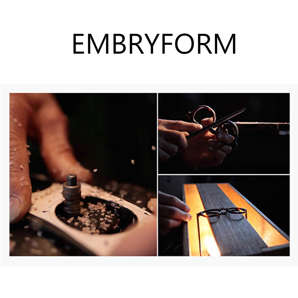 blocage des uv unisexe Embryform lunettes lumi/ère bleue rectangulaire cadre transparent lentille mieux dormir anti fatigue oculaire