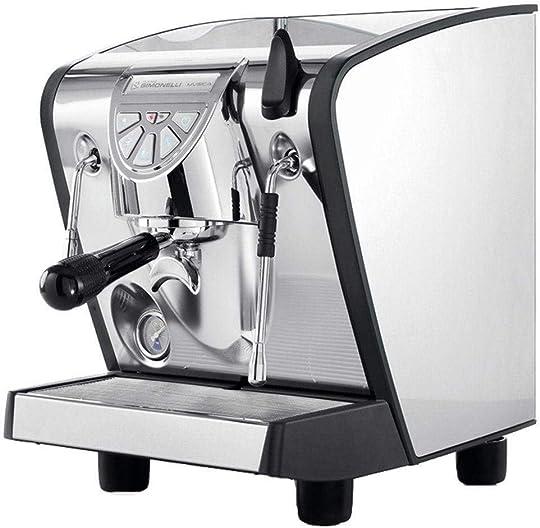 Nuova Simonelli Musica Stainless Steel Pour Over Espresso Machine w Black Lining