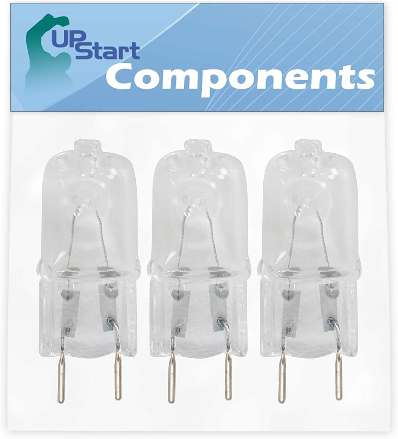 3-Pack 6912A40002E Microwave Oven Light Bulb Replacement for LG LMV2053ST (AS1ELGA) Microwave Oven - Compatible with LG 6912A40002E Bulb