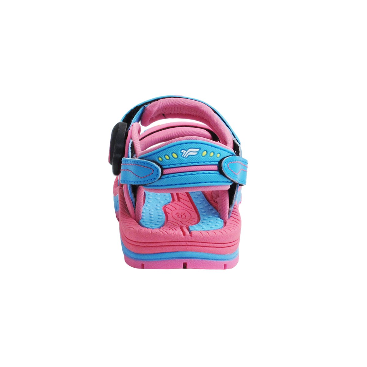 Easy On//Off Toddler to Big Kids Water Shoe Kids Signature SNAP LOCK Sandals