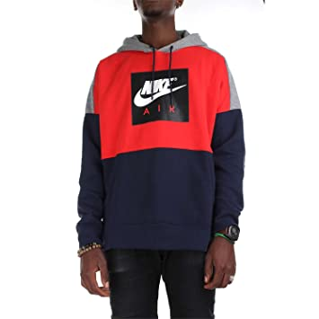 Nike 886046-657 Sudaderas Hombre University Red/Carbon Heather/White 3XL: Amazon.es: Ropa y accesorios