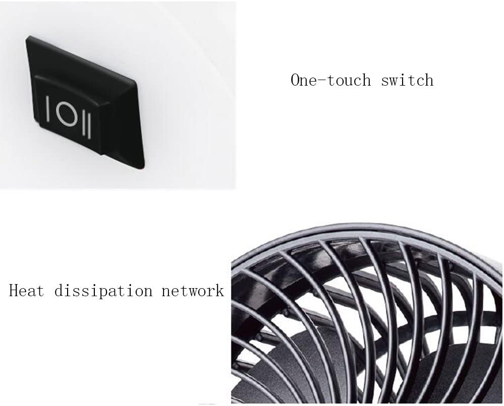 Mini Fan Silent Operation Desk Fan 6 Inch 2-Speed Portable Cooling Fan BNSDMM Student Fan Small Usb Fan Fan USB Mini Fan 6 Inch Office Home Desktop Fan Metal Mute Mini USB And Desktop Personal Fan