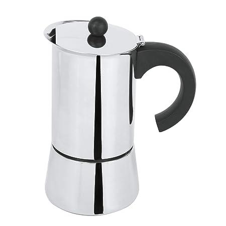 Cristel c6tab cafetera italiana adria-6 tazas, acero inoxidable ...