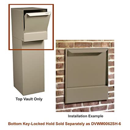 dVault® Wall Mount Package Drop DVWM0062S Secure Mail/Package Drop in Sand (Top  sc 1 st  Amazon.com & Amazon.com : dVault® Wall Mount Package Drop DVWM0062S Secure Mail ...