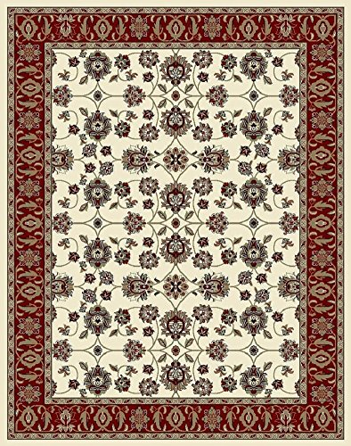 Traditional Entryway (Traditional Area Rugs Ivory 4x6 Rugs for Entryway Living Room Foyer Rugs Clearance)