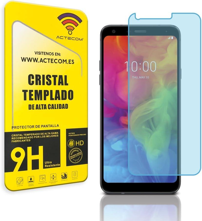 actecom® Protector Pantalla Cristal Templado para LG Q7 con Caja Vidrio Display: Amazon.es: Electrónica
