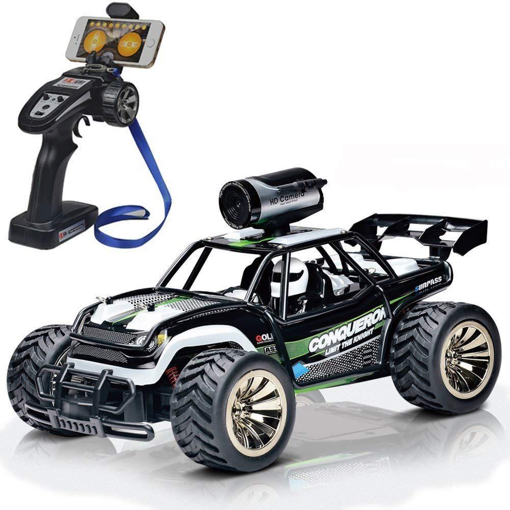 Rc Remote Control Cars with FPV Camera HD 720P, 2WD