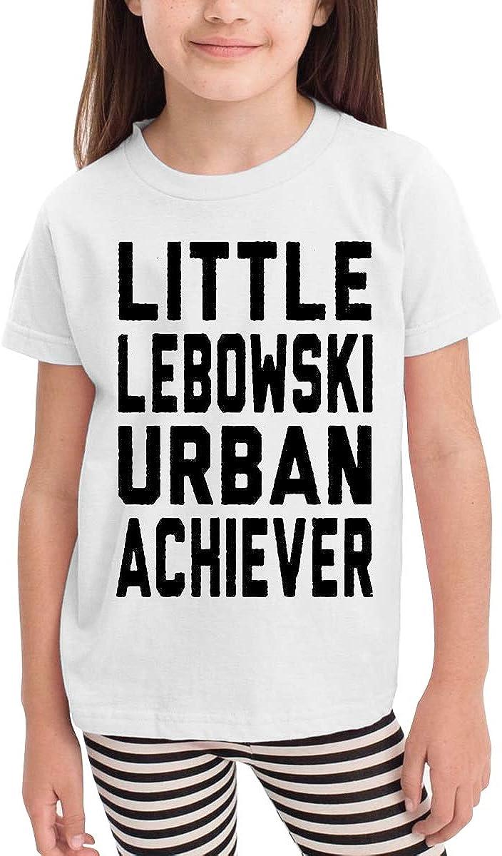 Little Lebowski Urban Achiever Unisex Youths Short Sleeve T-Shirt Kids T-Shirt Tops Black