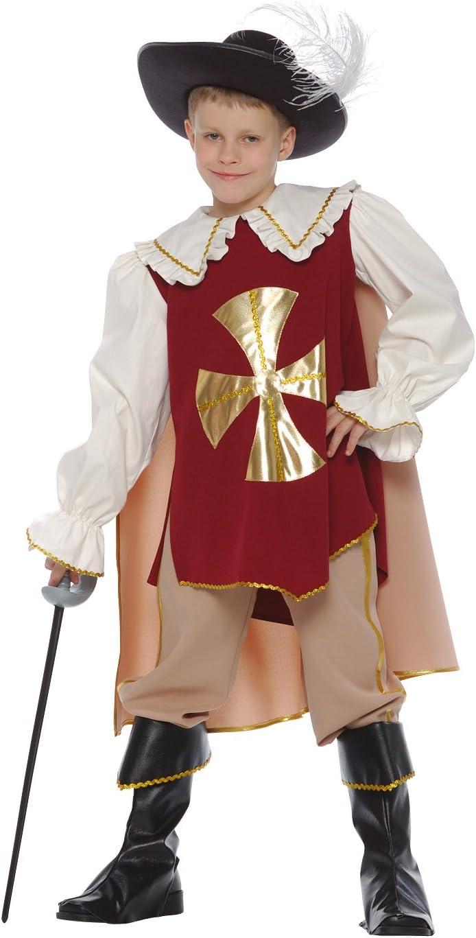 CARITAN - Disfraz de Mosquetero con Espada, Botas, Capa y Sombrero ...