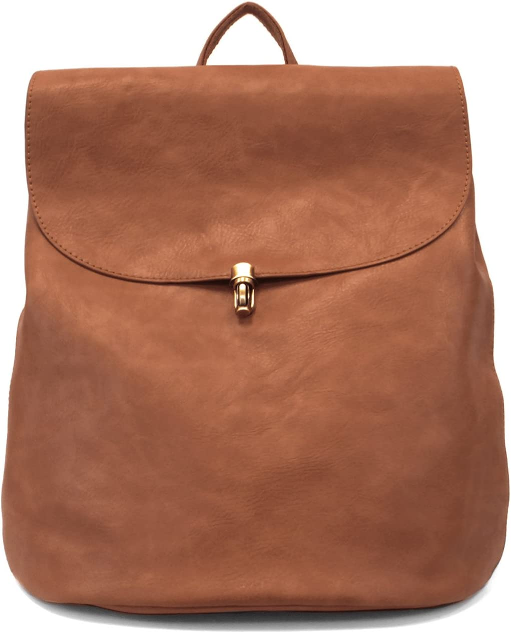 Joy Susan Vegan Leather Colette Backpack Saddle