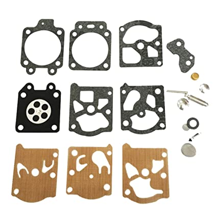 10 x Carburetor Rebuild Kit For Homelite 240 245 250 290 300 340 Walbro K20-WAT