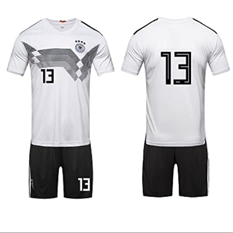 652cb36ac Image Unavailable. Image not available for. Color: ZLJTYN 2018, Jersey,  Germany, Argentina, Soccer Wear ...