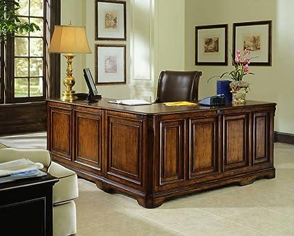 Amazing Hooker Furniture Brookhaven Executive L Shaped Right Return