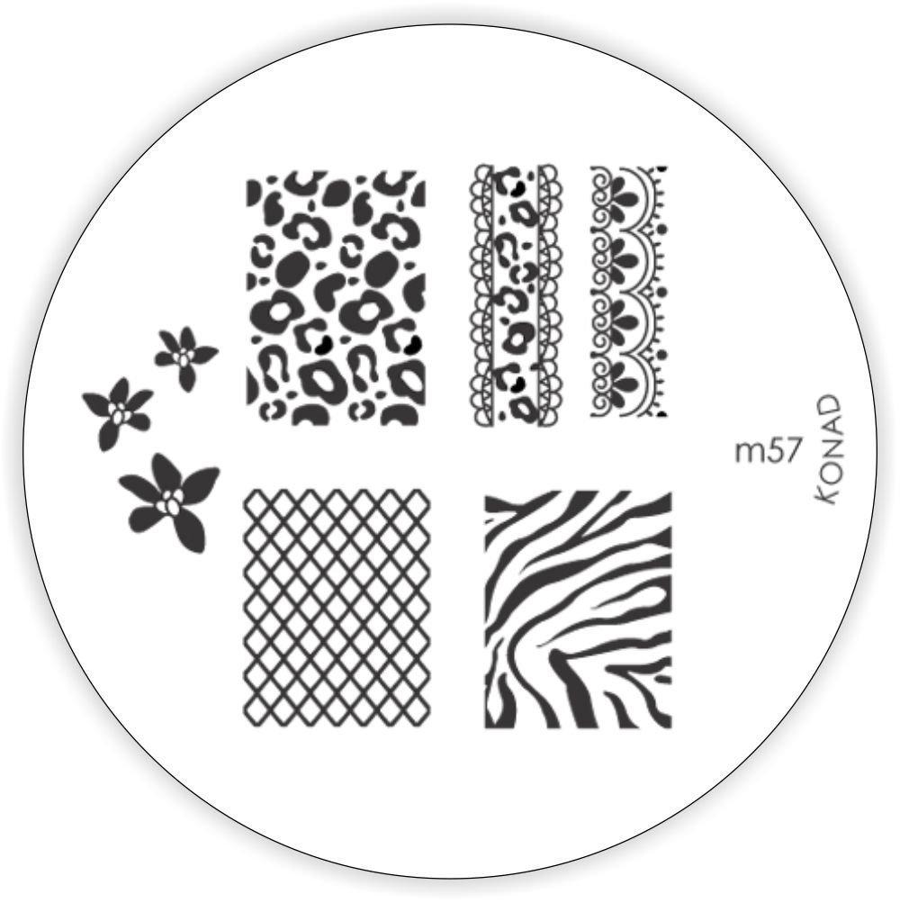 Konad Stamping Schablone M57: Amazon.de: Beauty