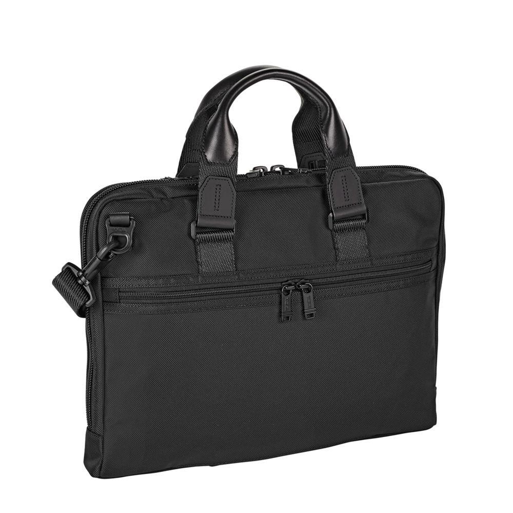 TUMI - Alpha Bravo Aviano Laptop Slim Brief Briefcase - 15 Inch Computer Bag for Men and Women - Black by TUMI (Image #3)