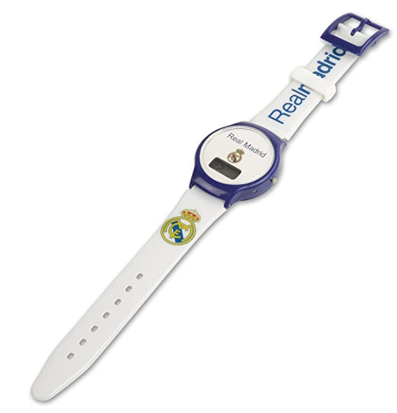 Real Madrid F.C. – blanco reloj de pulsera, diseño del Real Madrid F.C.