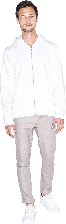 American Apparel Flex Fleece Long Sleeve Zip Hoodie Pull /à Capuche Femme