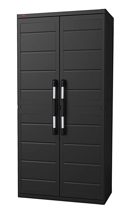 wonder grey plastic home product keter optima utility inch freestanding white x garden cabinet and