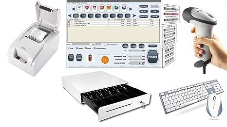 Amazon.com: Sistema POS de Punto de Venta Incluye Escáner de ...