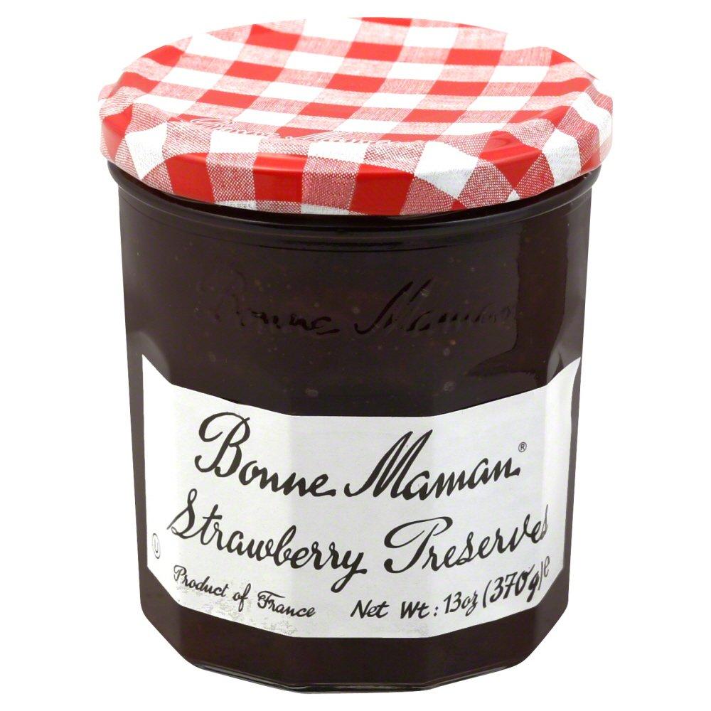 Bonne Maman Preserves Strawberry 13 oz (Pack of 2)