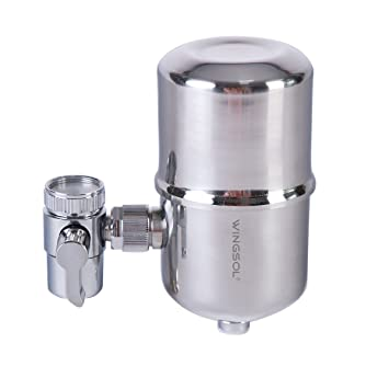 Water Filter, Wingsol Healthy Faucet Water Filter System   Tap Water  Purifier Filter Water Purifying
