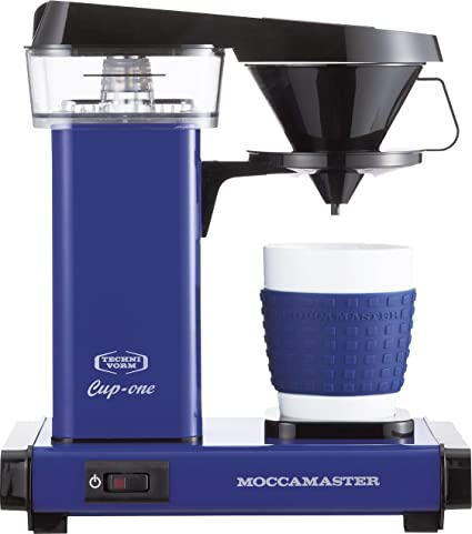 Amazoncom Moccamaster Coffee Maker Cup One Kb 300 Rbroyal Blue