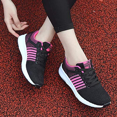 Leggere Donna Traspiranti Hot Esecuzione Scarpe Scarpe Scarpe Moda Jogging di da Casual Donna Ginnastica da Rosa Sale║Sonnena Caldo Moda Scarpe Sneakers Leggere Sportive da da qPwUP8xv