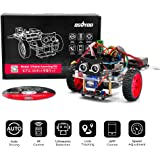 OSOYOO Model 3 Robot Car DIY Starter Kit for Arduino UNO   Remote Control App Educational Motorized Robotics for Building Programming Learning How to Code   IOT Mechanical Coding for Kids Teens Adults