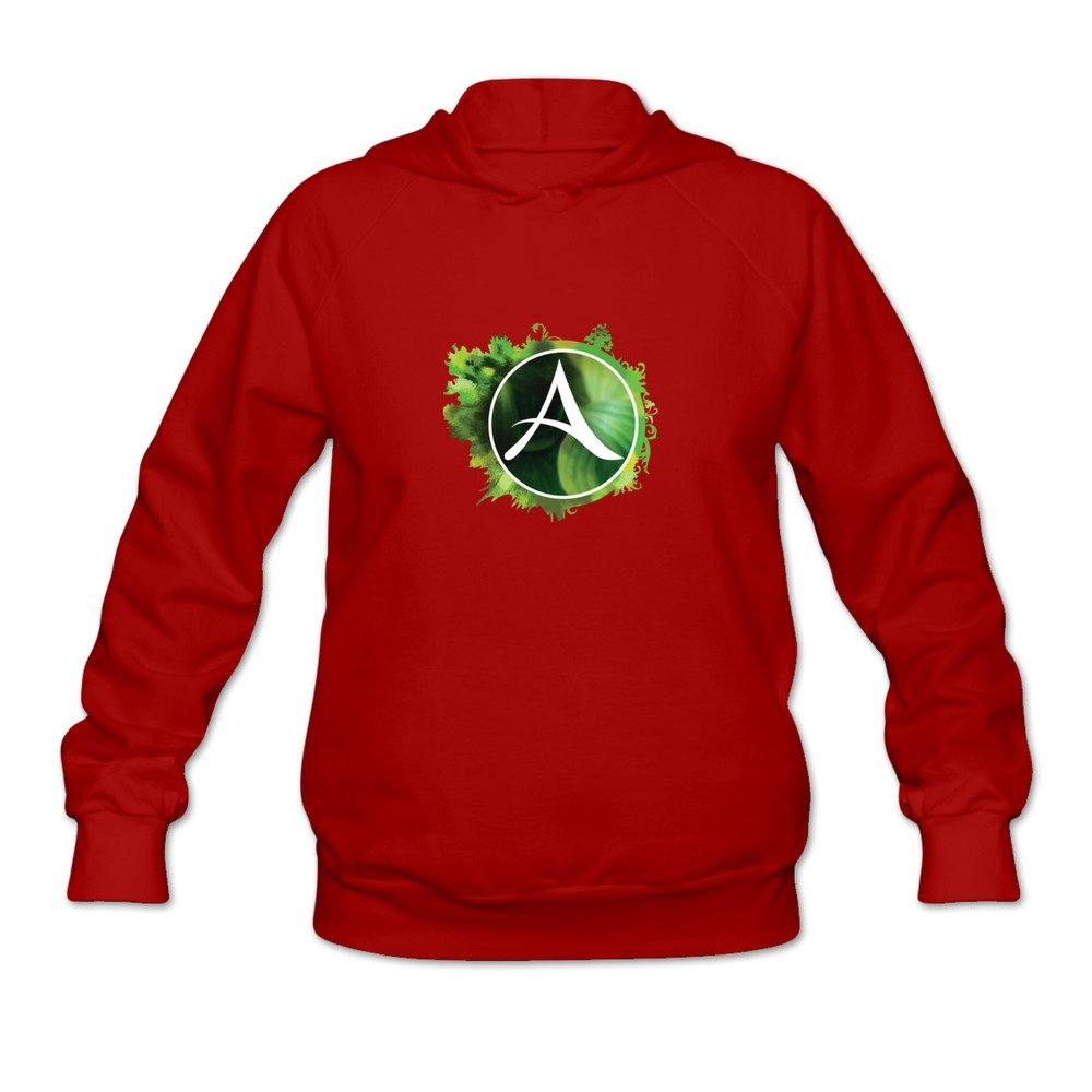 Archeage Logo Hot O Neck Red Long Sleeve Sweatshirt For Womens Size