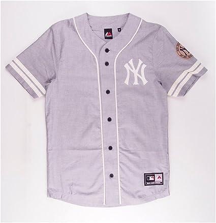 le dernier meilleure qualité pour Promotion de ventes Majestic Chemise de baseball New York Yankees S bleu marine ...