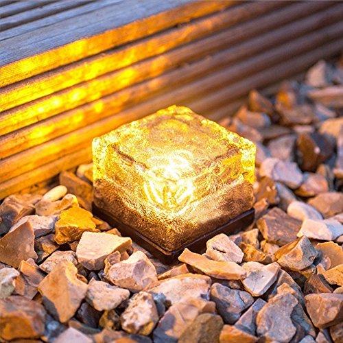 Solar Garden Brick Lights - 6