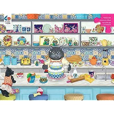 Ceaco Gigi - The Baker Puzzle - 300 Pieces: Toys & Games