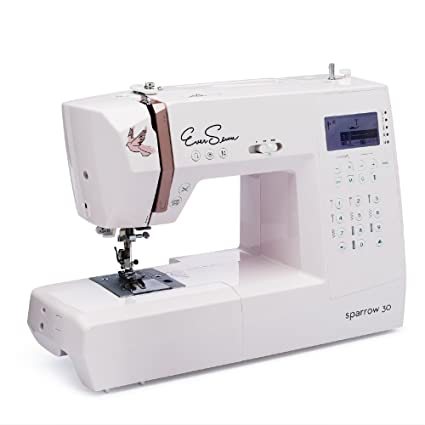 Amazon Sparrow 40 Sewing Machine Bundle with Big EverSewn Best Sewing Machine Starter Pack