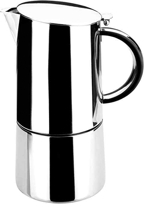 Lacor - 62051 - Cafetera Express Moka Inox. 10 Tazas: Amazon.es: Hogar
