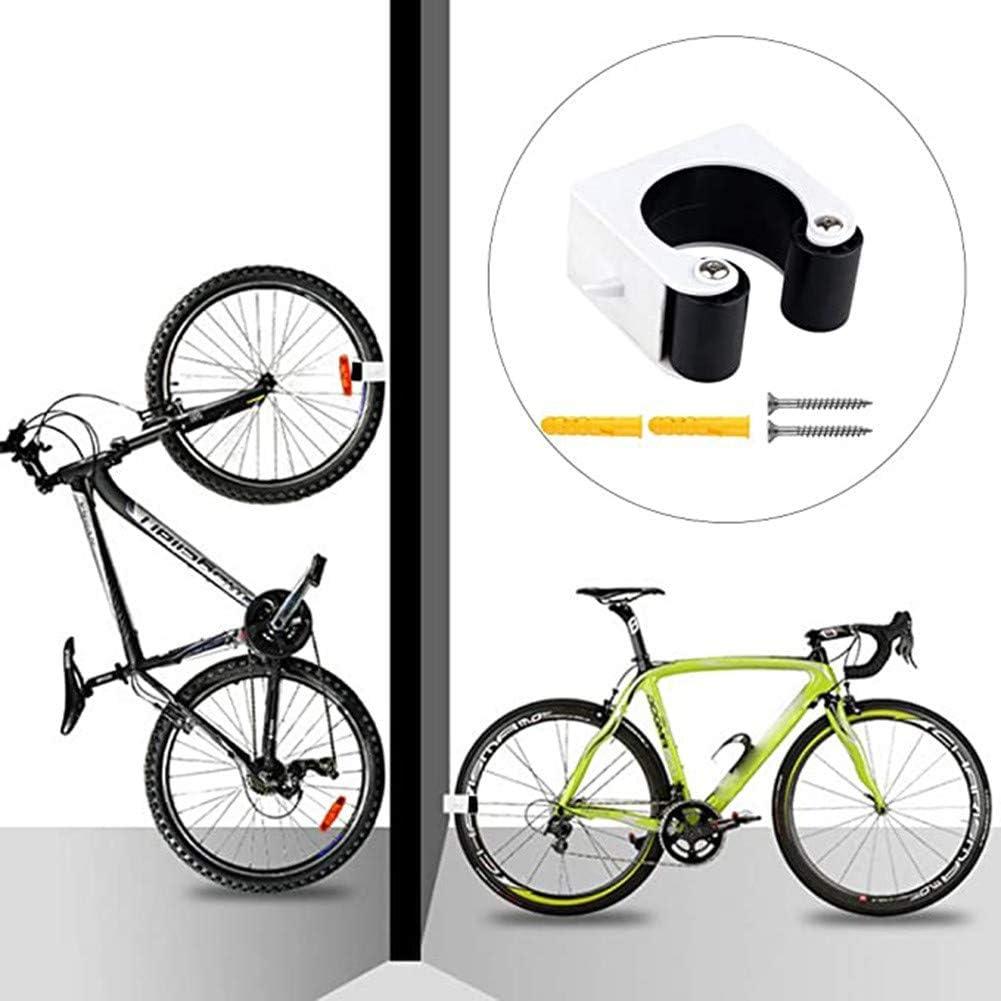 SxLingerie 2 Piezas Bicicletas Aparcamiento Hebilla Estante Interior Aparcamiento Bicicletas Bicicleta Montaje En Pared Gancho Gancho La Bicicleta Monta/ña La Bicicleta,Azul